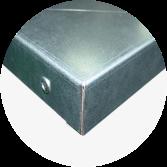 blat roboczy 40mm z nakładką z blachy ocynkowanej gr. 1 mm