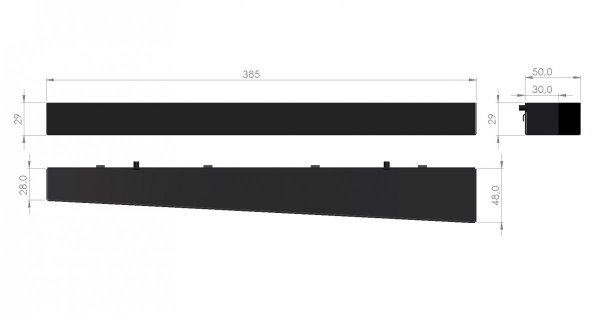 Zawieszka na kpl. kluczy trzpieniowych lub nasadowych ZW-08