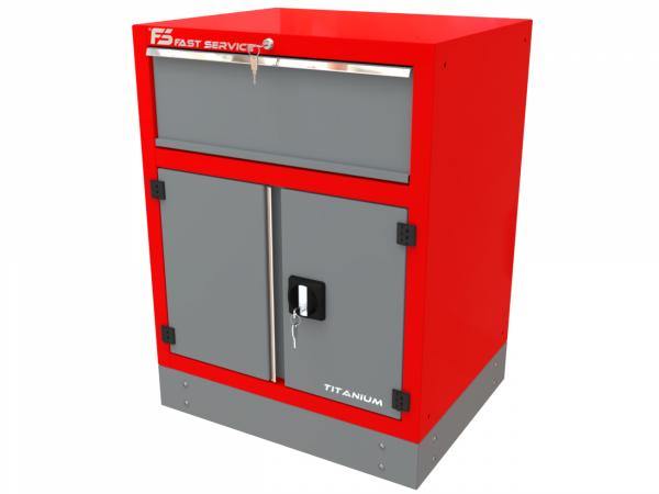 Szafka warsztatowa z 1 szufladą i drzwiami – T-32
