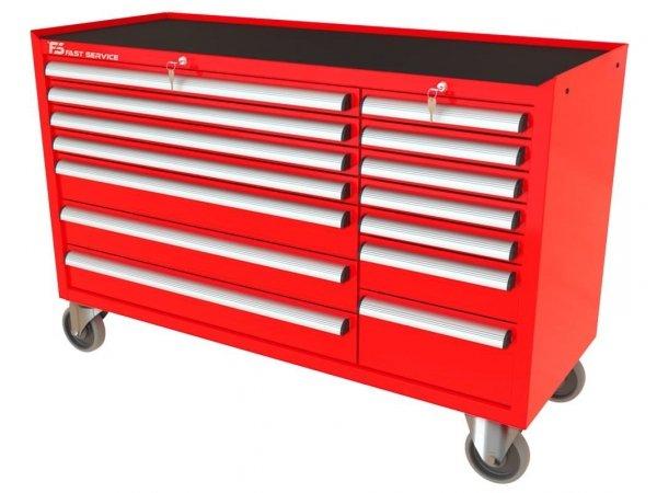 Wózek warsztatowy MEGA z 13 szufladami PM-213-20