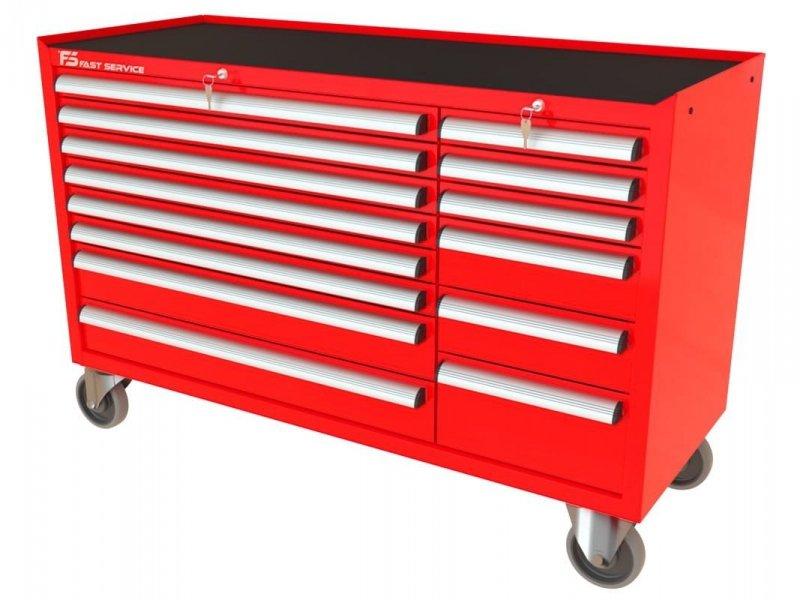 Wózek warsztatowy MEGA z 14 szufladami PM-212-20