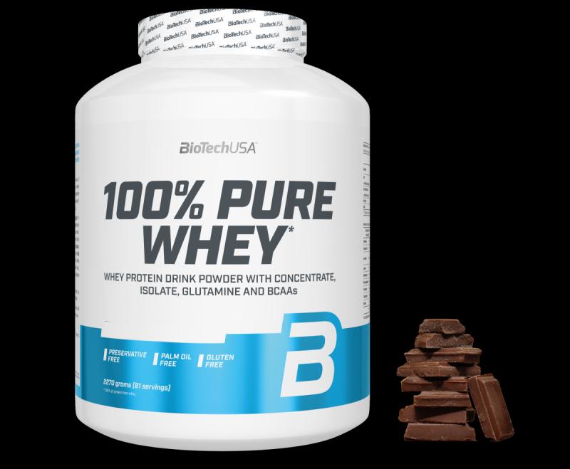 BioTechUSA 100% Pure Whey 2270g Czekolada