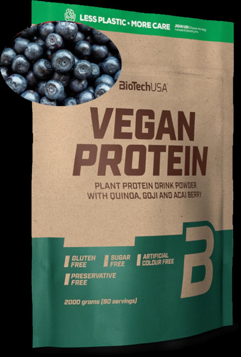 BioTech Vegan Protein 2000g owoce leśne