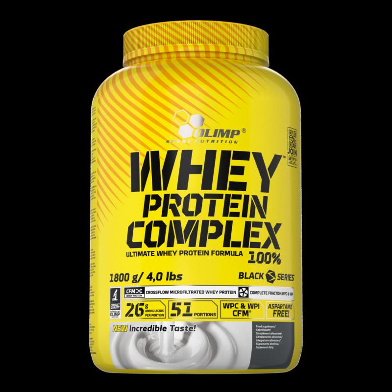 Olimp Whey Protein Complex 1800g waniliowe