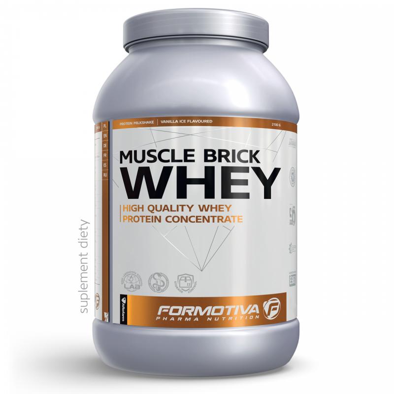 Białko Formotiva Muscle Brick Whey 2100g Czek/koko