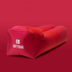 Sofa dmuchana SOFTYBAG PREMIUM czerwony 0206