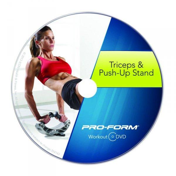 PROFORM REGULOWANY PRZYRZĄD DO ĆWICZEŃ Z DVD PFITPU13