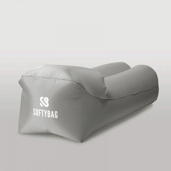 Sofa dmuchana SOFTYBAG PREMIUM szary 0201