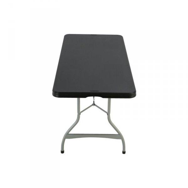Komercyjny stół składany do piętrowania 183 cm (czarny) 80350