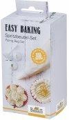 Rękaw cukierniczy z tylkami EASY BAKING - 6 elem. Birkmann