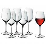WMF - Zestaw 6 kieliszków do czerwonego wina easy Plus