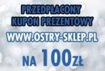 Kupon prezentowy przedpłacony 100 zł
