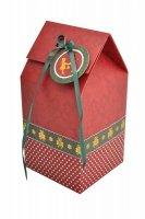 Pudełka prezentowe CHRISTMAS na 1 cupcake - 2 szt. Birkmann