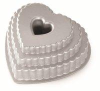 Forma do ciasta TIERED HEART Nordic Ware