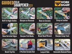 Ostrzałka Work Sharp Guided Field Sharpener