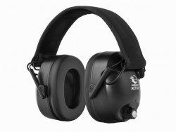 Słuchawki ochronne aktywne RealHunter ACTiVE czarne