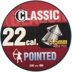Śrut Classic Pointed Boxer 5.5 mm - 250 szt.