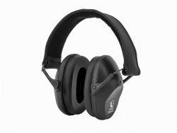 Słuchawki ochronne pasywne RealHunter PASSiVE czarne
