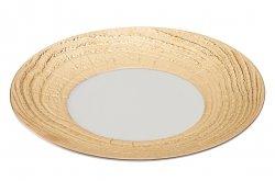 ARBORESCENCE talerz płaski 31 cm, złoty