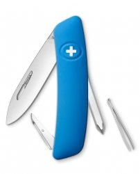 Scyzoryk SWIZA D02 BLUE 1 line Swiss Knife 95mm