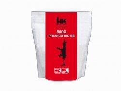 Kulki BB do ASG H&K Bio 0,20gr 6 mm 5000 szt. białe