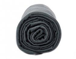 Ręcznik szybkoschnący Dr.Bacty Medium Dark Grey (DRB-M-016)