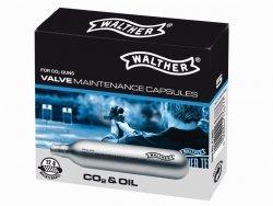 Naboje Walther CO2 12 g konserw.-czyszcz. 5 szt