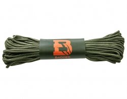 Linka spadochronowa Paracord Badger Outdoor 550 Olive 30 m