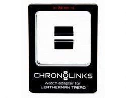 Adapter ChronoLinks 24 mm Black do mocowania zegarka na multitoolu Leatherman Tread