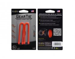 Troki Nite Ize Gear Tie 6 Orange - 2 szt. (GT6-2PK-31)