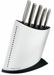 Komplet 5 noży w białym bloku GKB-52CW   Global