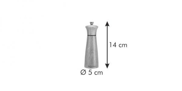 Młynek do pieprzu/soli VIRGO WOOD 14 cm