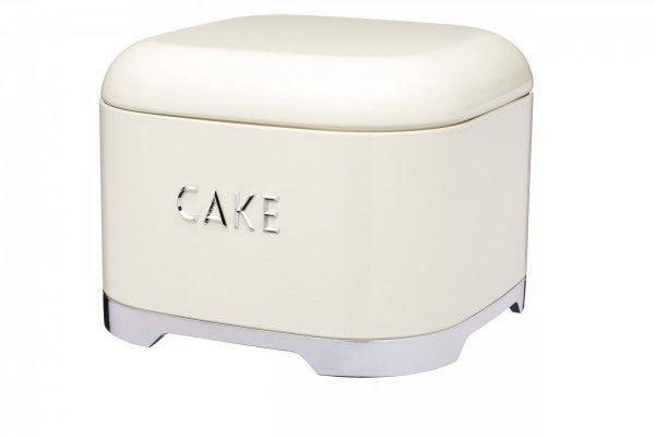 Pojemnik na ciasto z pokrywą LOVELLO - kremowy Kitchen Craft