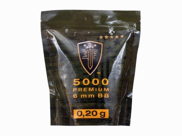 Kulki BB do ASG Elite Force Premium 0,2 g 6 mm 5000 szt.