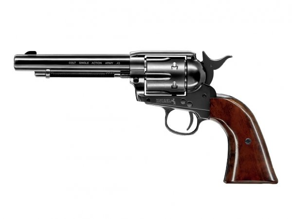"Rewolwer Colt SAA .45-5,5"" blue 4,5 mm CO2"