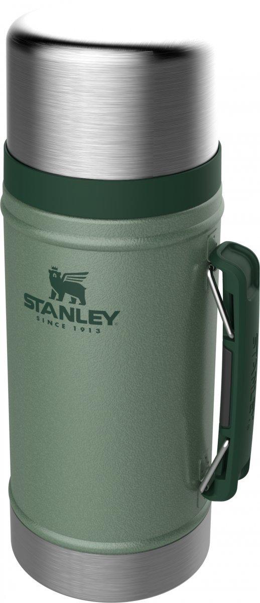 Termos obiadowy stalowy LEGENDARY CLASSIC - zielony 0.94L / Stanley