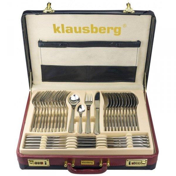 Klausberg Sztućce 72ele. Połysk Elegance Kb-7252