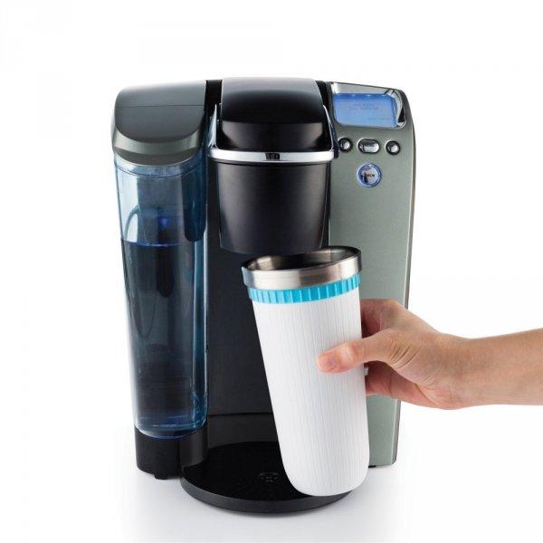 Kubek termiczny ICED COFFEE MAKER - turkusowy Zoku