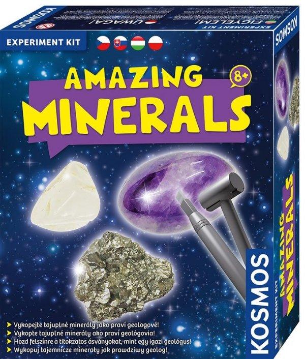 Zestaw Eksperymentalny - Minerały