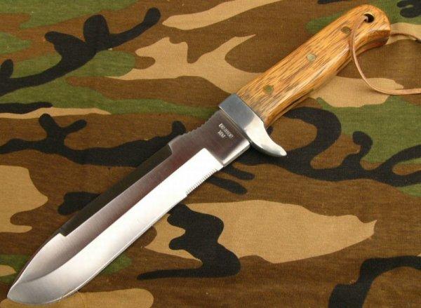 Nóż FOX MFH - skórzany pokrowiec