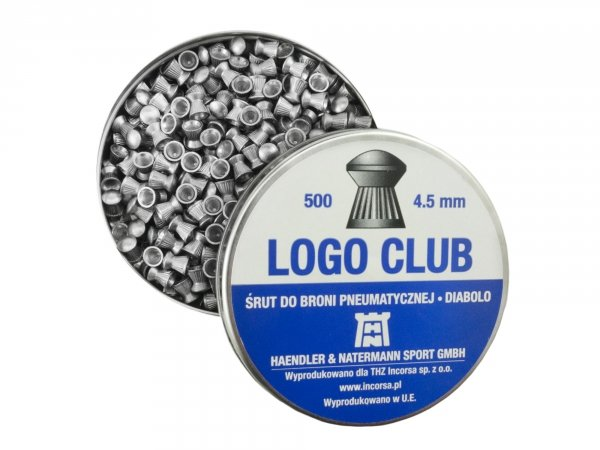 Śrut H&N Logo Club 4.5 mm - 500 szt.