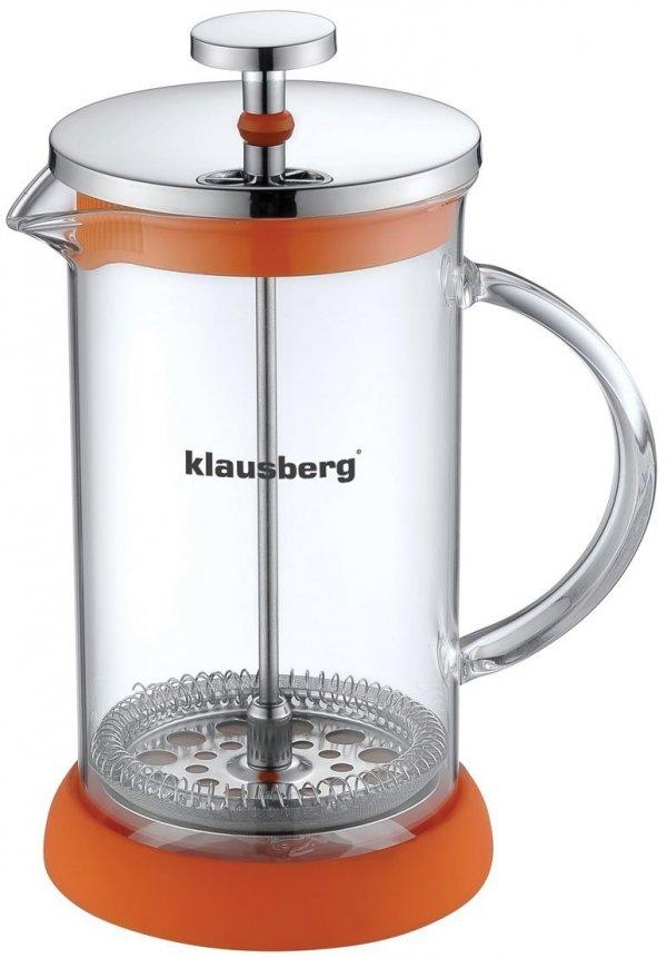 Klausberg Zaparzacz Do Kawy/Herbaty Z Dociskiem 800ml Kb-7117