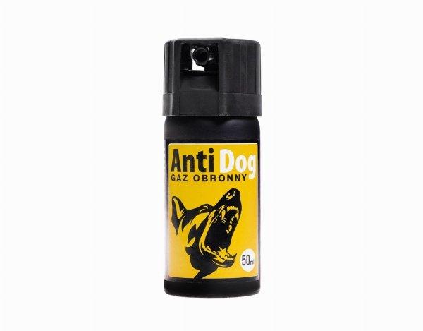 Gaz pieprzowy na psy AntiDog 50 ml - stożek
