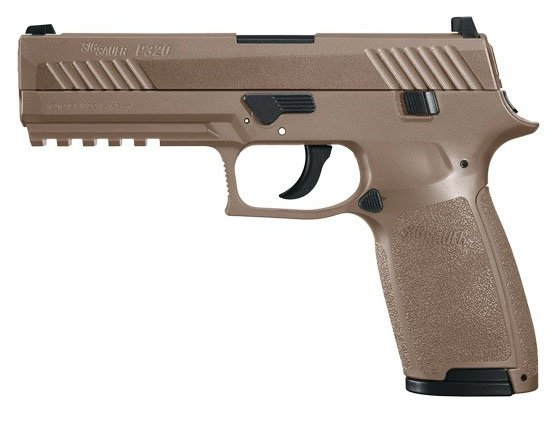 Wiatrówka Sig Sauer P320 4,5 mm - coyote (AIR-P320-177-30R-CYT)