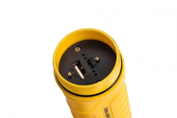 Ładowalna latarka MACTRONIC DURA LIGHT 2.3, 700 lm