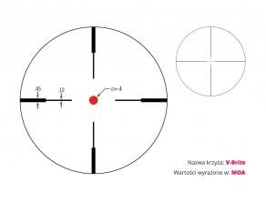 Luneta  Vortex Crossfire II 3-9x50 1'' V-brite