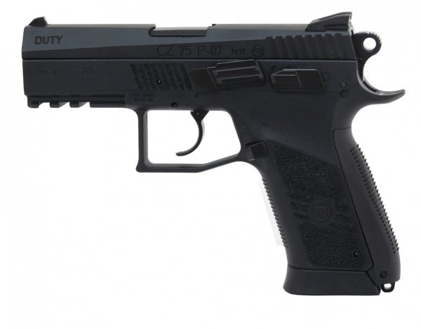 Pistolet ASG CO2 CZ 75 P-07 Duty Blow Back (16720)