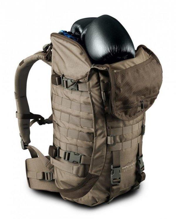Plecak Wisport Zipper Fox 40 l czarny