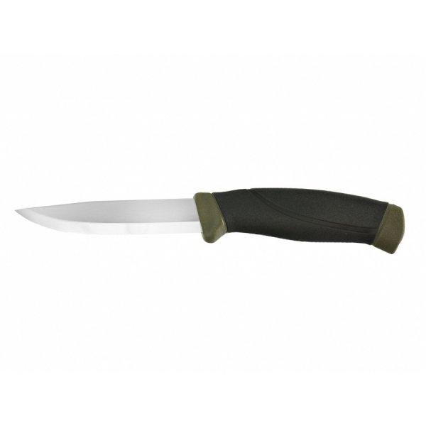 Nóż Mora Companion MG oliwkowy stal nierdzewna