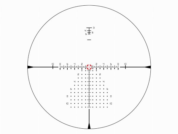 Luneta celownicza Vortex Razor III HD 1-10x24 FFP 34 mm AO EBR-9 MOA/MRAD